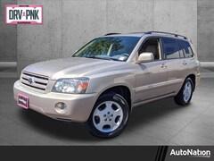 2004 Toyota Highlander Limited Sport Utility