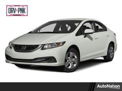 2015 Honda Civic Sedan LX 4dr Car