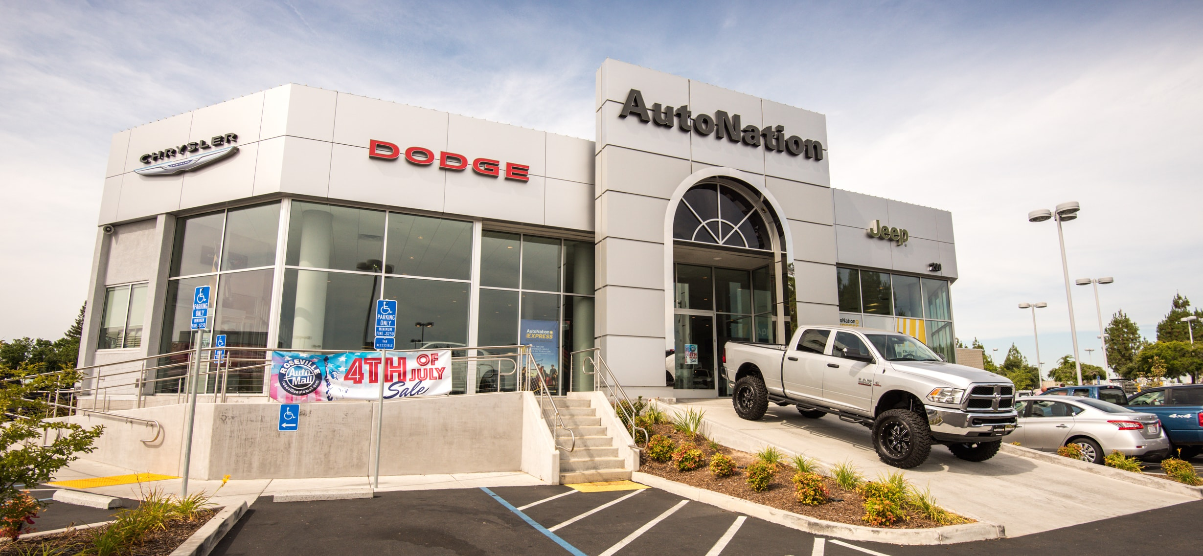 About AutoNation Chrysler Dodge Jeep RAM Roseville