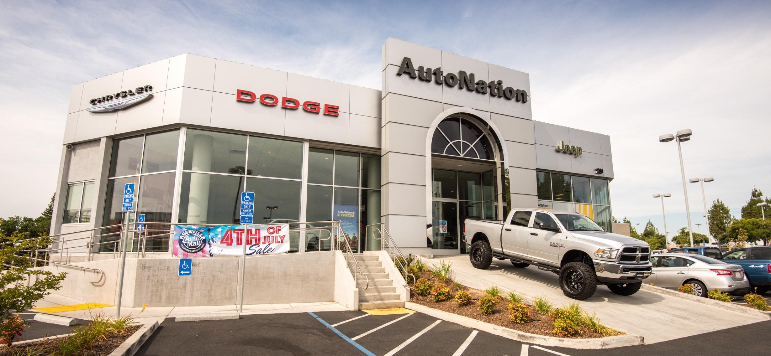 About AutoNation Chrysler Dodge Jeep RAM Roseville