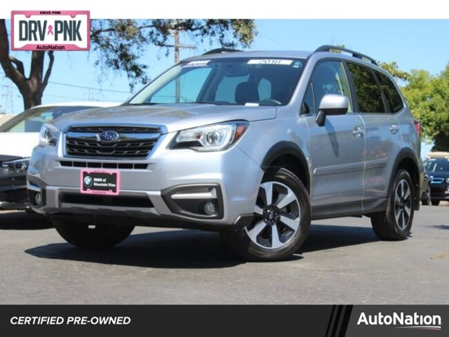 Certified 2018 Subaru Forester Limited SUV in Roseville, CA