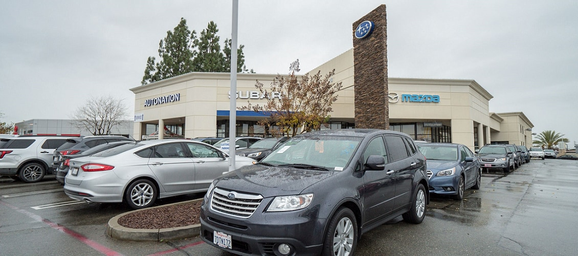 Exterior view of AutoNation Subaru Roseville Serving Citrus Heights