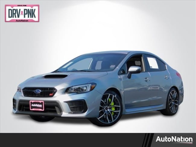 New 2020 Subaru WRX STI Limited - Wing Sedan in Roseville, CA