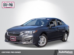 Certified 2018 Subaru Impreza Premium Sedan in Roseville, CA