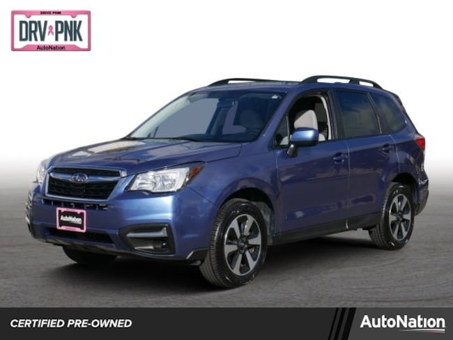 Certified 2018 Subaru Forester Premium SUV in Roseville, CA