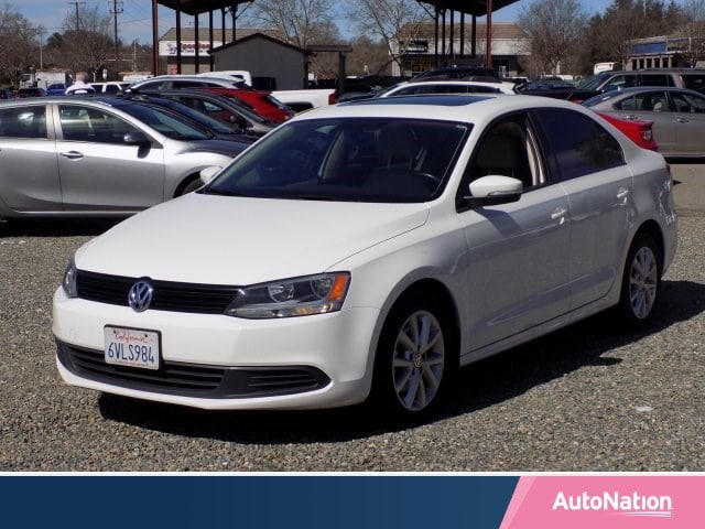 2012 Volkswagen Jetta SE w/Convenience & Sunroof Pzev Sedan