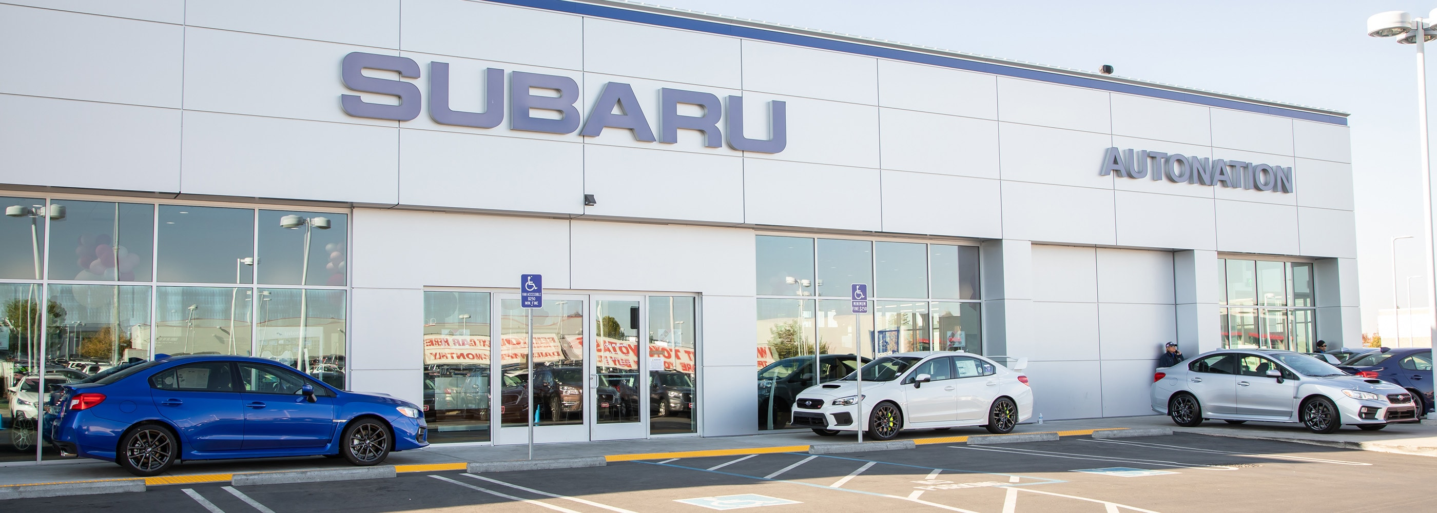Exterior view of AutoNation Subaru Roseville