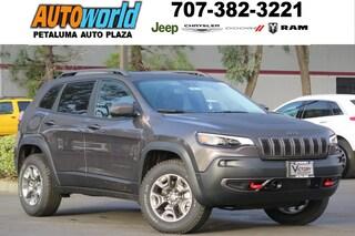New 2019 Jeep Cherokee TRAILHAWK ELITE 4X4 Sport Utility 26614 Petaluma