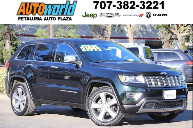 Used 2014 Jeep Grand Cherokee Limited 4WD  Limited Petaluma