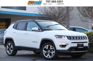 New 2019 Jeep Compass LIMITED 4X4 Sport Utility 27312 Petaluma