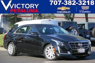 Used 2014 Cadillac CTS Sedan Luxury RWD Sedan 1G6AR5S37E0179811 Petaluma