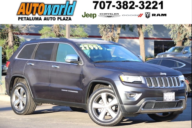 Used 2016 Jeep Grand Cherokee Limited 4WD  Limited Petaluma