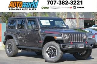 New 2018 Jeep Wrangler UNLIMITED RUBICON 4X4 Sport Utility 26790 Petaluma