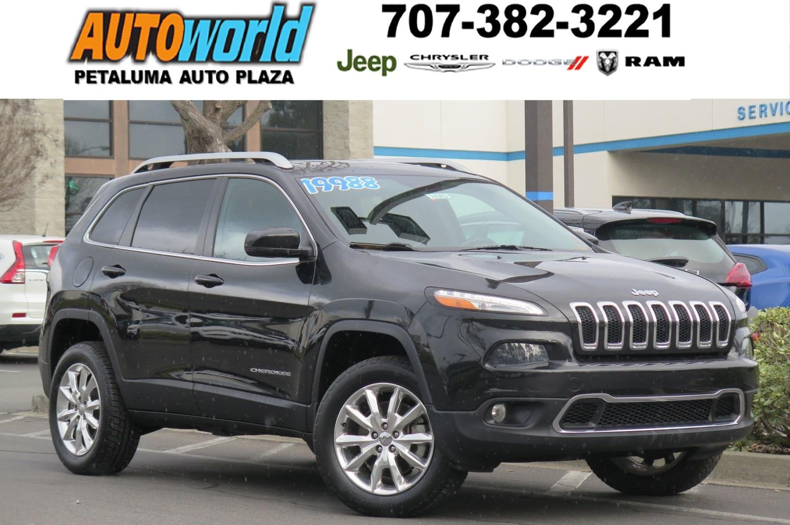 2014 Jeep Cherokee Limited 4WD  Limited
