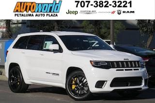 New 2018 Jeep Grand Cherokee TRACKHAWK 4X4 Sport Utility 26656 Petaluma