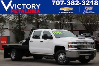 Used 2018 Chevrolet Silverado 3500HD Work Truck 4WD Crew Cab 171.5 WB, 59.06 CA WT 1GB4KYCY9JF282184 Petaluma