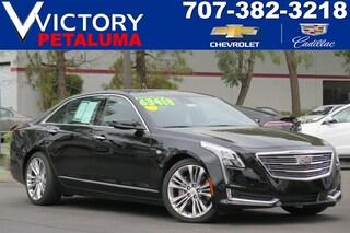 Used 2017 Cadillac CT6 Sedan Platinum AWD Sedan 1G6KN5R62HU205633 Petaluma