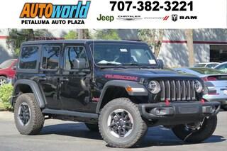 New 2018 Jeep Wrangler UNLIMITED RUBICON 4X4 Sport Utility 26784 Petaluma