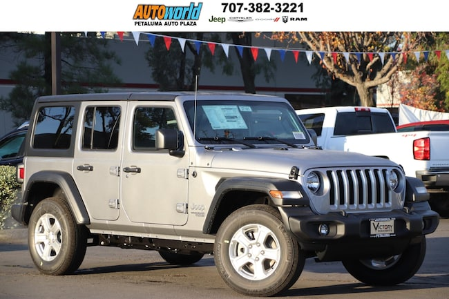 New 2019 Jeep Wrangler UNLIMITED SPORT S 4X4 Sport Utility 27181 Petaluma