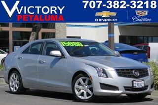 Used 2014 Cadillac ATS Standard RWD Sedan 1G6AA5RA9E0173164 Petaluma