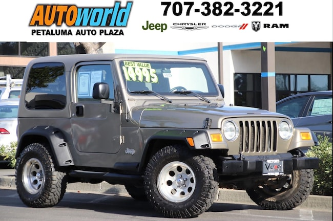 Used 2006 Jeep Wrangler X In Petaluma CA