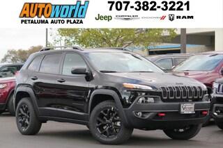 New 2018 Jeep Cherokee Trailhawk 4x4 SUV 26278 Petaluma