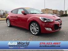 2012 Hyundai Veloster Base w/Red/Black (A6) Hatchback
