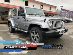 New 2018 Jeep Wrangler JK UNLIMITED SAHARA 4X4 Sport Utility for sale in Harlan, KY