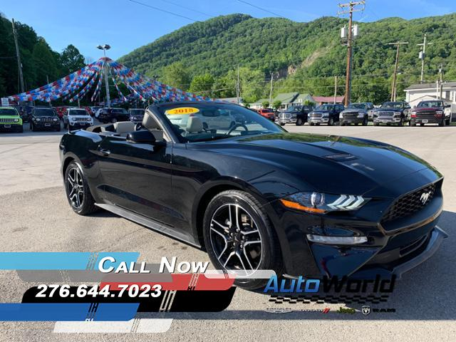 Featured Used 2018 Ford Mustang Convertible for Sale in Big Stone Gap  VA