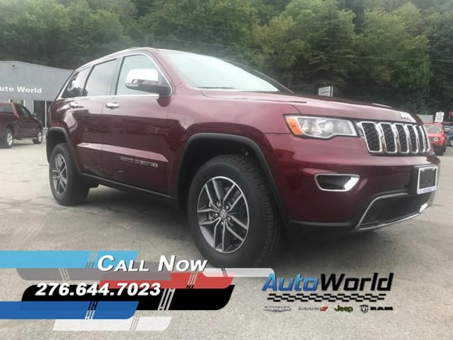 New 2018 Jeep Grand Cherokee LIMITED 4X4 Sport Utility in Harlan, KY