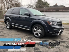 New 2017 Dodge Journey CROSSROAD PLUS AWD Sport Utility for sale in Harlan, KY