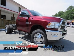 New 2017 Ram 3500 TRADESMAN CHASSIS REGULAR CAB 4X4 143.5 WB Regular Cab for sale in Harlan, KY