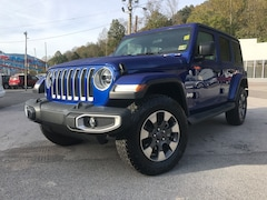 New 2018 Jeep Wrangler UNLIMITED SAHARA 4X4 Sport Utility 1C4HJXENXJW210892 for sale in Harlan, KY