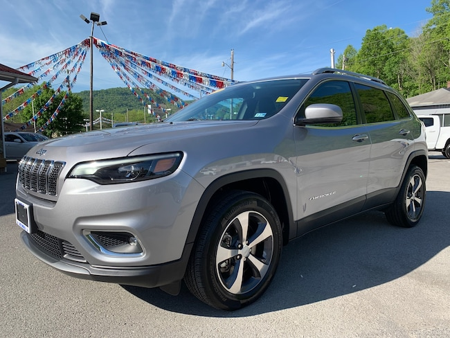 Used 2019 Jeep Cherokee Limited 4x4 SUV in Harlan, KY