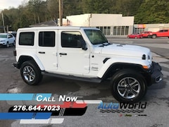 New 2018 Jeep Wrangler UNLIMITED SAHARA 4X4 Sport Utility for sale in Harlan, KY