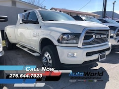 New 2018 Ram 3500 LIMITED MEGA CAB 4X4 6'4 BOX Mega Cab for sale in Harlan, KY