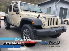 New 2018 Jeep Wrangler JK UNLIMITED RUBICON 4X4 Sport Utility for sale in Harlan, KY