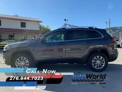 2020 Jeep Cherokee LATITUDE PLUS 4X4 Sport Utility For Sale in Big Stone Gap, VA  | Auto World Chrysler Dodge Jeep