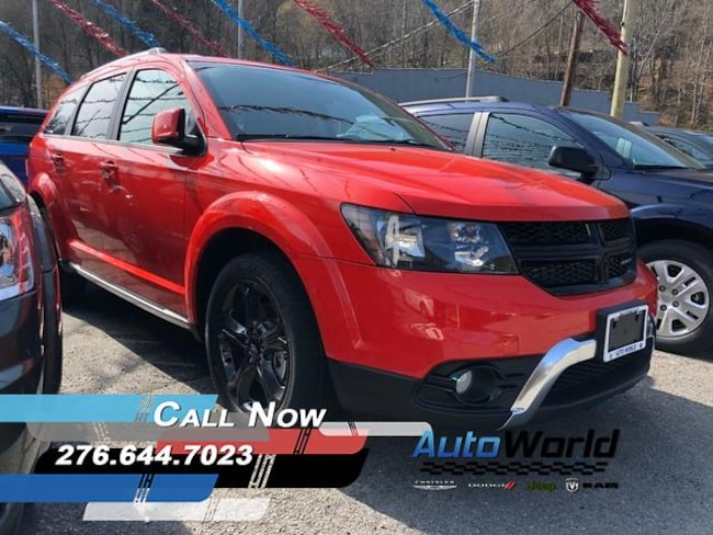 New 2018 Dodge Journey CROSSROAD AWD Sport Utility in Harlan, KY