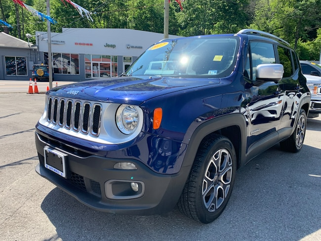 Used 2017 Jeep Renegade Limited FWD SUV in Harlan, KY
