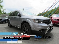 New 2018 Dodge Journey CROSSROAD AWD Sport Utility 3C4PDDGG7JT187478 for sale in Harlan, KY
