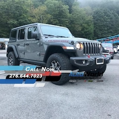 New 2018 Jeep Wrangler UNLIMITED RUBICON 4X4 Sport Utility for sale in Harlan, KY