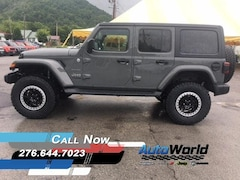 New 2018 Jeep Wrangler UNLIMITED SAHARA 4X4 Sport Utility 1C4HJXEG8JW242905 for sale in Harlan, KY