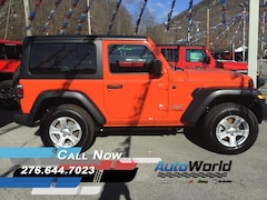 New 2020 Jeep Wrangler SPORT S 4X4 Sport Utility for sale in Harlan, KY