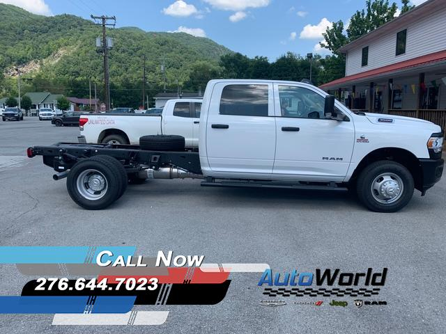 Featured New 2019 Ram 3500 Chassis Cab 3500 TRADESMAN CREW CAB CHASSIS 4X4 172.4 WB Crew Cab for Sale in Big Stone Gap, VA