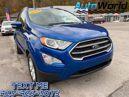 Featured Used 2019 Ford EcoSport SE SUV for Sale in Big Stone Gap  VA