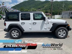 New 2019 Jeep Wrangler UNLIMITED SPORT S 4X4 Sport Utility for sale in Harlan, KY