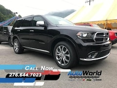 New 2018 Dodge Durango CITADEL ANODIZED PLATINUM AWD Sport Utility 1C4SDJET3JC463286 for sale in Harlan, KY