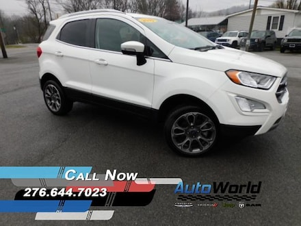 Featured Used 2019 Ford EcoSport Titanium SUV for Sale in Big Stone Gap  VA