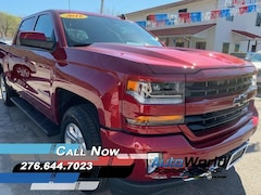 Used 2018 Chevrolet Silverado 1500 LT Truck Crew Cab 3GCUKREC0JG380392 for sale in Harlan, KY